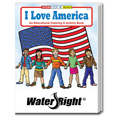 32894 - I Love America Coloring Book