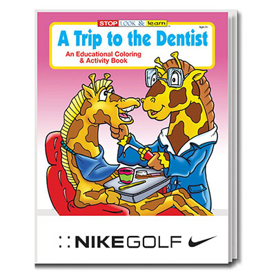 32898 - A Trip to the Dentist Coloring Book