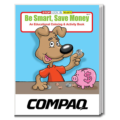 32900 - Be Smart, Save Money Coloring Book