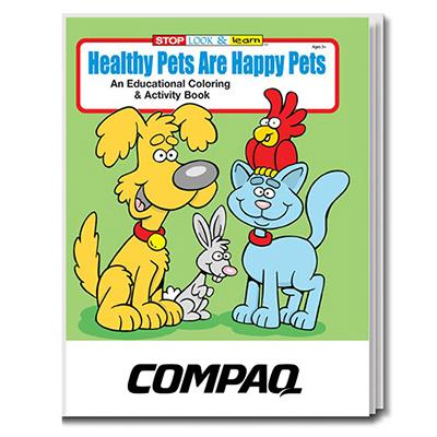 32905 - Healthy Pets are Happy Pets Coloring Book