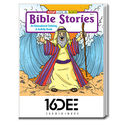 32907 - Bible Stories Coloring Book