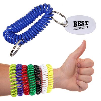 32933 - Bracelet Coil Key Chain