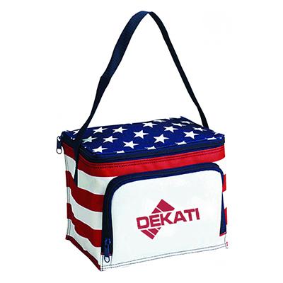 32955 - Stars & Stripes 6 Can Cooler Bag