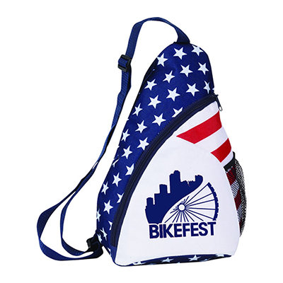32957 - Patriotic Sling Backpack