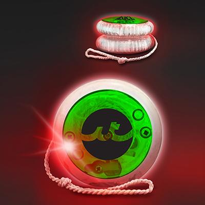 33004 - LED Lighted Yoyo - Green