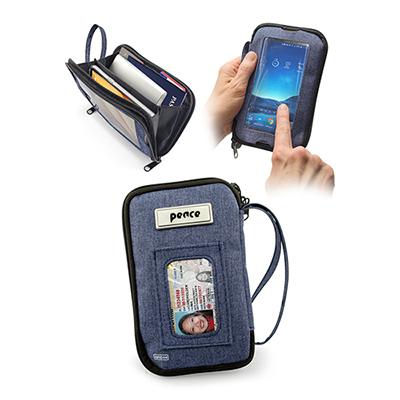 33016 - Tekie Smartphone RFID Clutch Bag - Navy