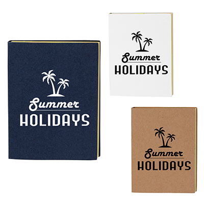 33032 - Loomis Small Recycled Paper Cover Sticky Notes & Flags
