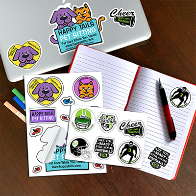 33035 - CustomCut Removable Vinyl Stickers - Large