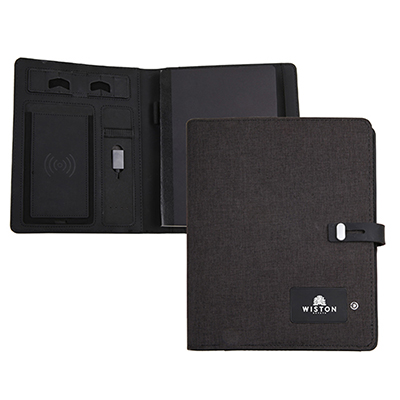 33057 - Powerbank Journal Padfolio