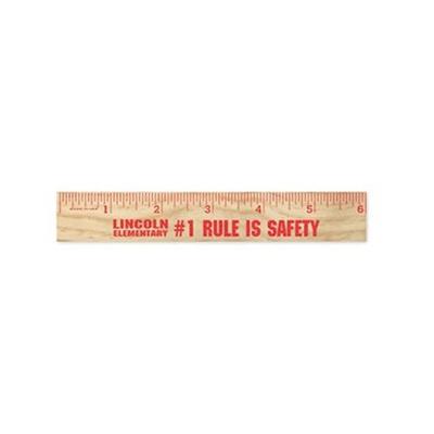 "33090 - 6"" Wooden Ruler"