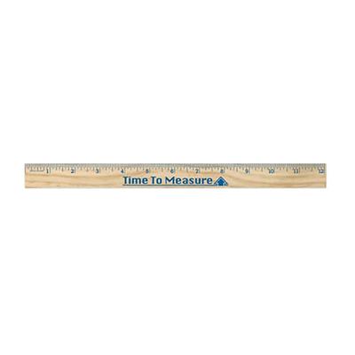 "33091 - 12"" Wooden Ruler"