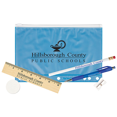 33114 - Pencil Pouch School Kit