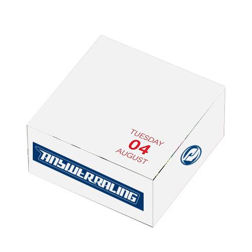 33156 - Post-it® Custom Printed Notes Calendar Cubes