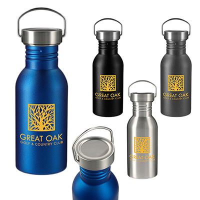 33179 - 20 oz. Thor Stainless Sports Bottle