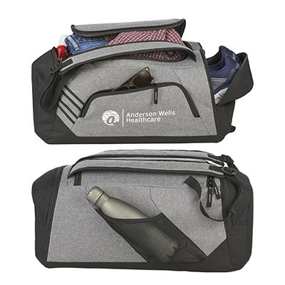 33191 - Sebring Convertible Graphite Duffel Bag