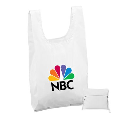 33244 - T-Shirt Style Tote - Two Sided Imprint