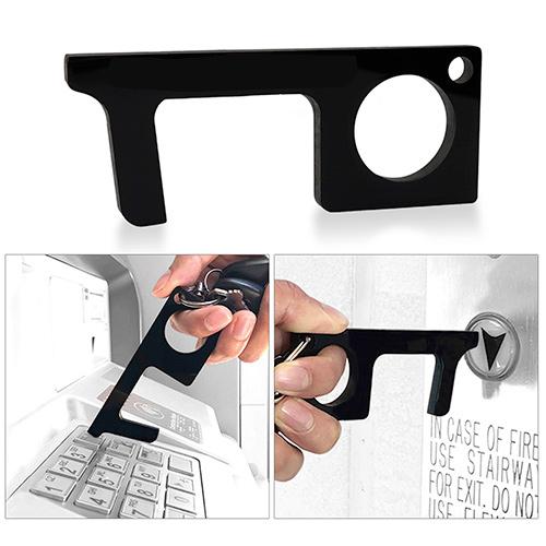 33300 - Touchless Black Acrylic Sanitary Key - Blank