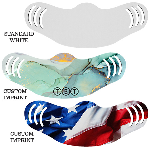 33380 - Full Color Adjustable Face Mask - USA Made