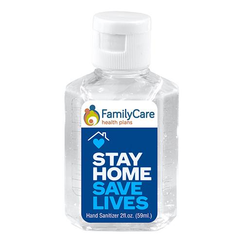 33458 - 2 oz. Antibacterial Hand Sanitizer (Full Color)