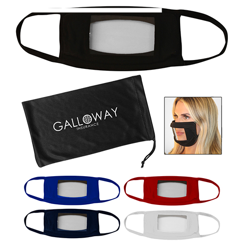 33507 - Anti-Fog Window Mask with Antimicrobial Pouch