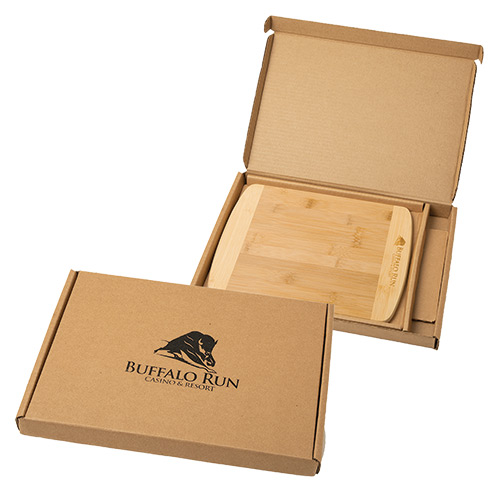 33509 - Bamboo Cutting Board with Gift Box