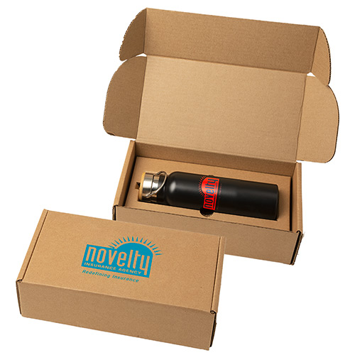 33512 - 21 oz. Stainless Steel Bottle with Gift Box