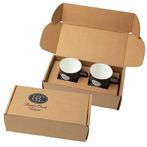 33516 - 16 oz. Camping Mugs with Gift Box
