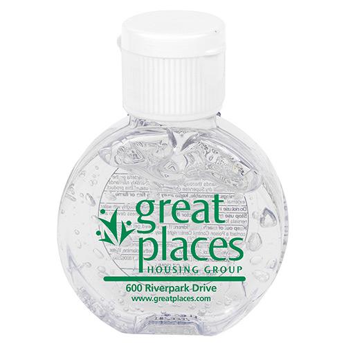 33524 - 1 oz. Compact Hand Sanitizer Antibacterial Gel
