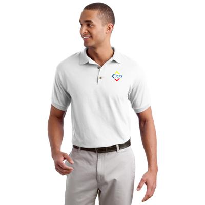 8579 - Gildan® - DryBlend® 6-Ounce Jersey Knit Sport Shirt (White)