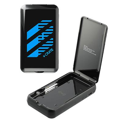 33555 - Pristine 10000 Wireless Power Bank w/UV Sanitizer