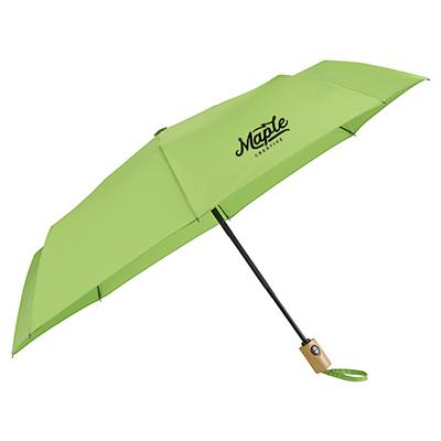 "33597 - 42"" Recycled PET Auto Open/Close Folding Umbrella"