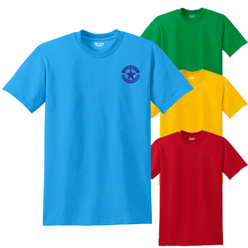 3867C - Gildan® - DryBlend® 50 Cotton/50 Poly T-Shirt (Color)