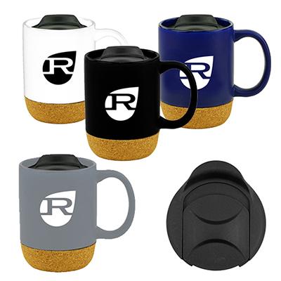 33661 - 14 oz. Cork Bottom Mug