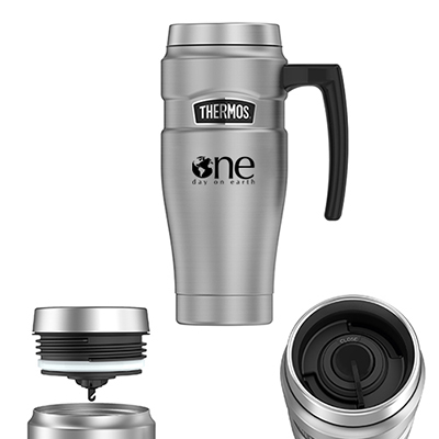33667 - 16 oz. Thermos® Stainless King™ Stainless Steel Travel Mug