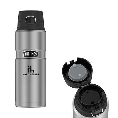 33670 - 24 oz. Thermos® Stainless King™ Drink Bottle