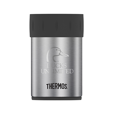 33672 - 12 oz. Thermos® Double Wall Stainless Steel Can Insulator