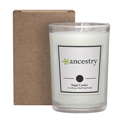 33687 - 8 oz. Scented Candle in a Cardboard Gift Box
