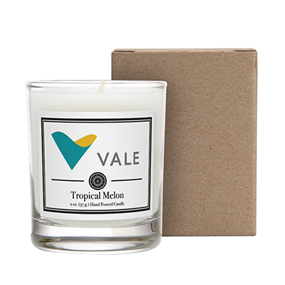 33689 - 3 oz. Scented Candle in a Cardboard Gift Box
