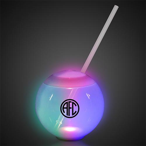 33748 - 20 oz. Multicolor LED Ball Tumbler