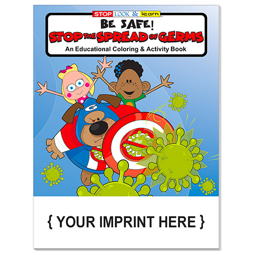 33749 - Stop the Spread of Germs Coloring Book
