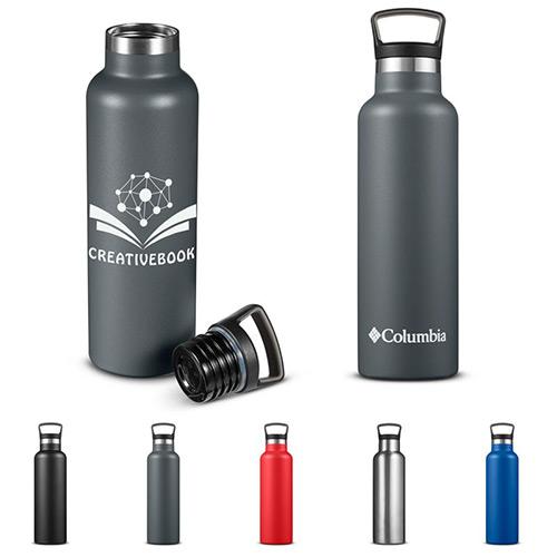 33751 - Columbia® 21 oz. Double-Wall Vacuum Bottle