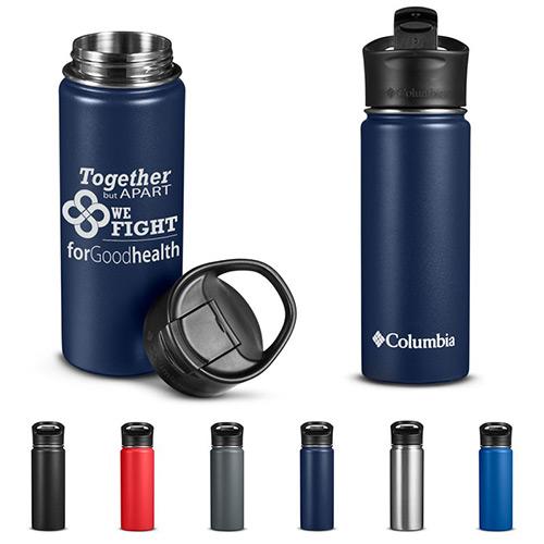 33752 - Columbia® 18 oz. Double-Wall Vacuum Bottle