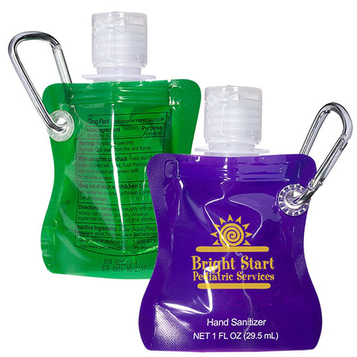 33787 - 1 oz. Collapsible Hand Sanitizer