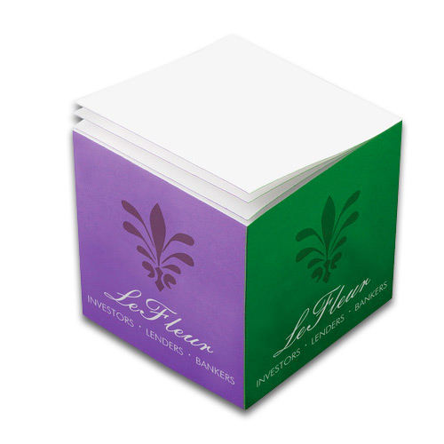 33797 - Post-it® Notes Cube - 3 3/8 x 3 3/8 x 3 3/8 (Full Color)