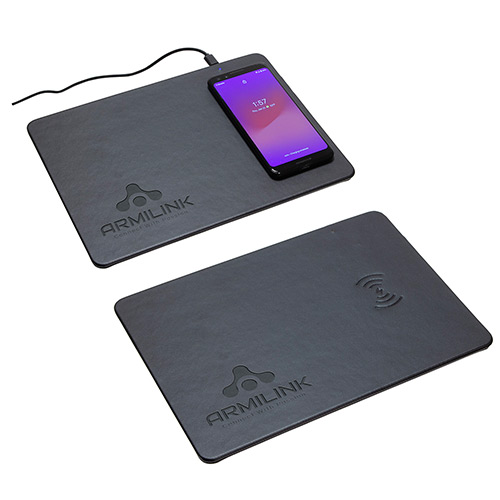 33808 - Mouse Pad with Wireless Charger