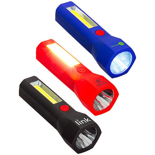 33814 - Ultralight COB Worklight + LED Flashlight