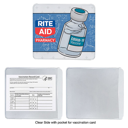 33826 - Vaccine Card Holder - Full Color