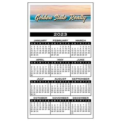 8135 - Bic® Calendar Magnet