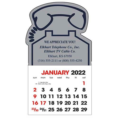 2583TE - Stick-Up Calendars-Phone
