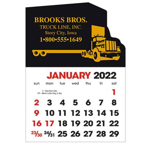 2583ST - Stick-Up Calendars (Semi Truck)